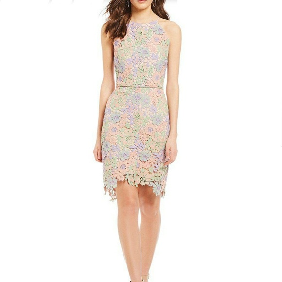 615788267a4 NWT Women s Sheath Dress Floral Lace. NWT. Gianni Bini.  75  149. Size